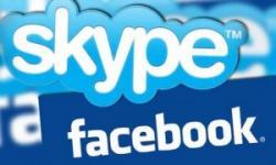 Skype и Facebook