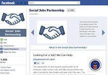 Facebook, Social Jobs, поиск работы, приложение