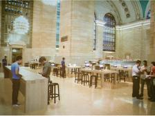 США, Apple Store, открытие,  вокзал
