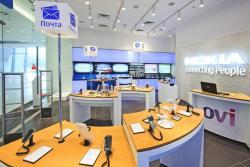 Россия,  фирменный магазин,  Nokia, закрытие