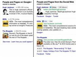 Facebook, MySpace,  Twitter, Google, поиск