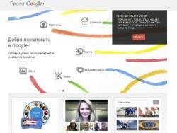 Google+, Facebook, Twitter, темпы роста,  аудитория
